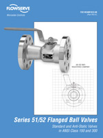 Series 51/52 Flanged Ball Valves