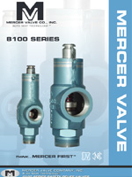 8100 Series - Mercer Valve Co., Inc.