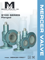 9100 Series Flanged - Mercer Valve Co., Inc.