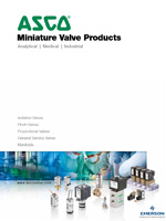 ASCO® Miniature Valve Products