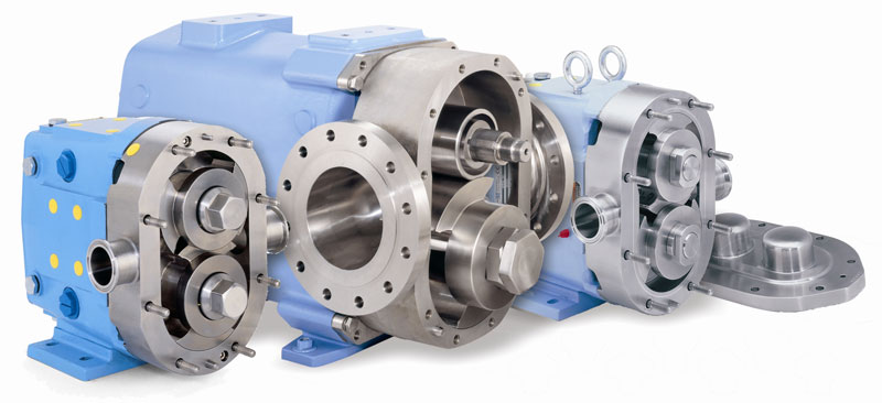 rotary positive displacement pd pumps distributor rotary vane rh fischerprocess com Bran Luebbe USA Bran Luebbe USA