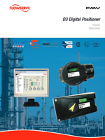 D3 Digital Positioner Product Information - PMV