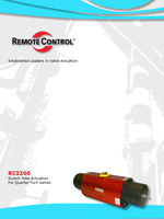 RCI200 Scotch Yoke Actuators for Quarter-Turn Valves - RCI Actuators