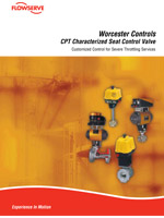 CPT Characterized Seat Control Valves