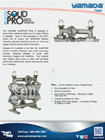 Air operated diaphragm aodd pumps distributor supplier fischer yamada solid pro ccuart Choice Image